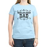 World's Best Dad Women's Light T-Shirt
