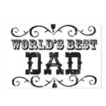 World's Best Dad Postcards (Package of 8)