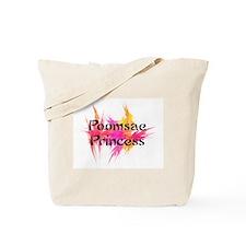 Taekwondo Poomsae Princess Tote Bag