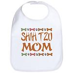 Cute Shih Tzu Mom Bib