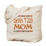 Cute Shih Tzu Mom Tote Bag