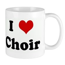 I Love Choir Mug