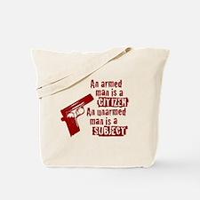 Unarmed Tote Bag