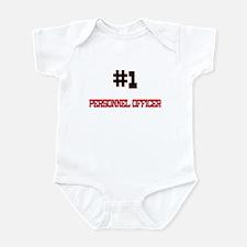 Number 1 PERSONNEL OFFICER Infant Bodysuit