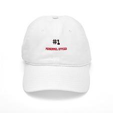 Number 1 PERSONNEL OFFICER Baseball Cap