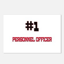 Number 1 PERSONNEL OFFICER Postcards (Package of 8