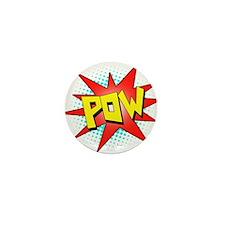 Pow, Superhero! Mini Button (10 pack)
