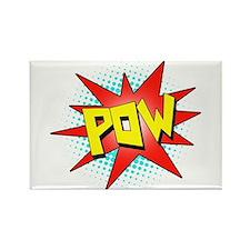Pow, Superhero! Rectangle Magnet