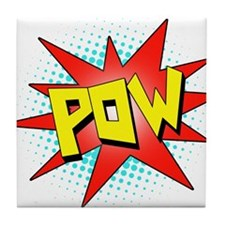 Pow, Superhero! Tile Coaster