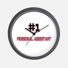 Number 1 PERSONAL ASSISTANT Wall Clock
