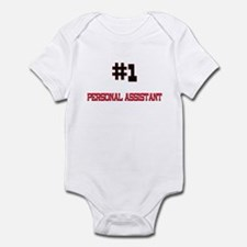 Number 1 PERSONAL ASSISTANT Infant Bodysuit