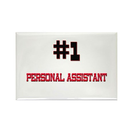 Number 1 PERSONAL ASSISTANT Rectangle Magnet