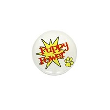 Puppy Power Mini Button (100 pack)