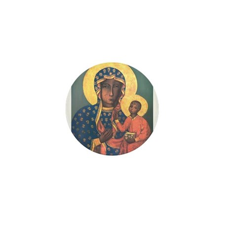 Our Lady of Czestochowa Mini Button (10 pack)
