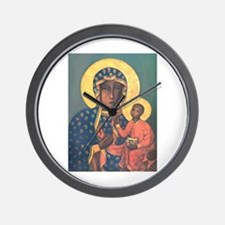 Our Lady of Czestochowa Wall Clock