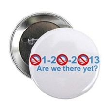 "Funny Obama 2013 2.25"" Button"