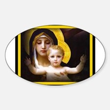 MIRACLES DO HAPPEN Oval Decal