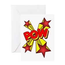 Pow! Greeting Card