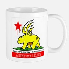 Cali Fre Republic #01 Golden Mug