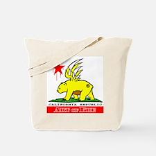 Cali Fre Republic #01 Golden Tote Bag