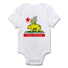 Cali Fre Republic #01 Golden Infant Bodysuit