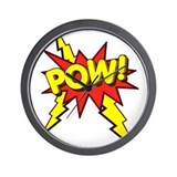 Pow Wall Clocks