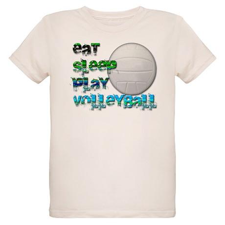 Eat sleep volley 2 Organic Kids T-Shirt