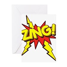 Zing! Greeting Cards (Pk of 20)