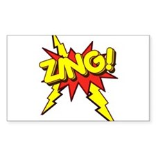 Zing! Rectangle Decal