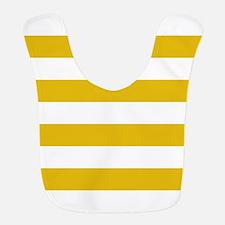 Mustard Yellow Horizontal Stripes Polyester Baby B