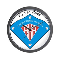 AKA Fighter Kite Classic II Wall Clock