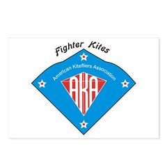 AKA Fighter Kite Classic II Postcards (Package of