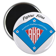 "AKA Fighter Kite Classic II 2.25"" Magnet (10"