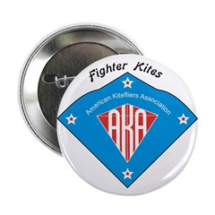 "AKA Fighter Kite Classic II 2.25"" Button (100"