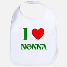 I Love Nonna Bib