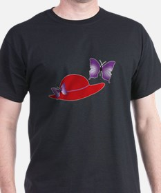 Red Hat Butterfly T-Shirt