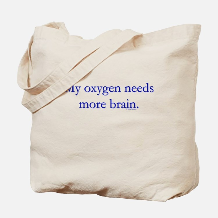 Oxy Brain Tote Bag