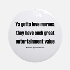 That's Entertainment Ornament (Round)
