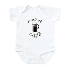 Coffee Snob Infant Bodysuit