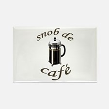 Coffee Snob Rectangle Magnet