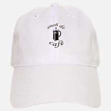 Coffee Snob Baseball Baseball Cap
