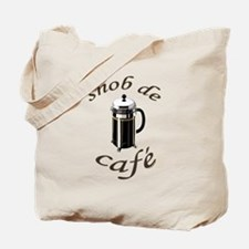 Coffee Snob Tote Bag