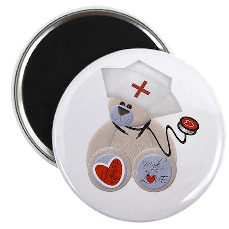 Nurse Bear Magnet