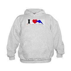 I love Sport Kites Hoodie