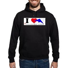 I love Sport Kites Hoodie (dark)
