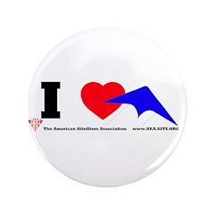 "I love Sport Kites 3.5"" Button (100 pack)"