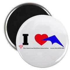"""I love Sport Kites 2.25"""" Magnet (100 pack)"""