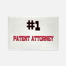 Number 1 PATENT ATTORNEY Rectangle Magnet