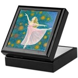 Clara ballet Square Keepsake Boxes