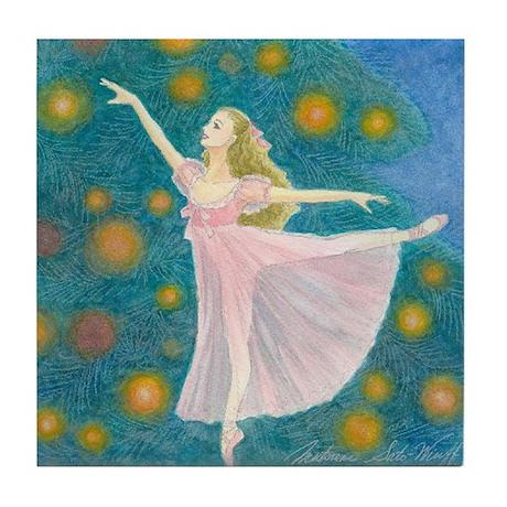 Clara Ballet Tile Coaster